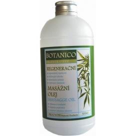 Konopný regenerační stimulační masážní olej BOTANICO, 200 ml