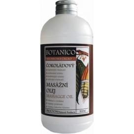 Čokoládový masážní olej BOTANICO s extraktem kakaa, 200 ml