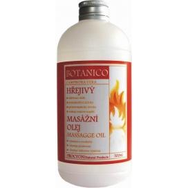 Hřejivý masážní olej BOTANICO, 200 ml