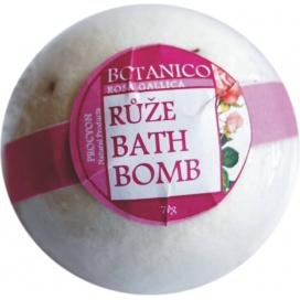 Botanico koupelová koule šumivá Růže, 50 g