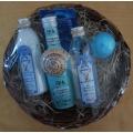 Dárkový se BOTANICO s minerály Mrtvého moře, koupelová koule, koupelová sůl, 2 mýdla, tělové a pleťové mléko + sprchový gel