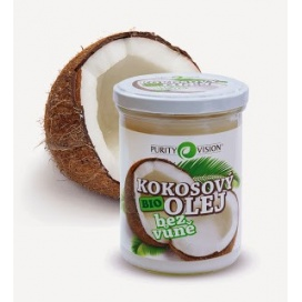 Kokosový olej bez vůně PURITY VISION, 400 ml