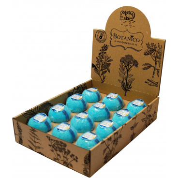 Botanico koupelová koule zelený čaj, 50g displej 12 ks