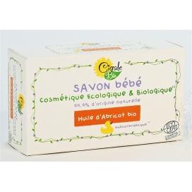 Hypoalergenní BIO BABY mýdlo CIGALE BIO s meruňkovým olejem, 100 g