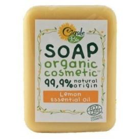 Mýdlo CIGALE BIO s citrónovým esenciálním olejem, 100 g