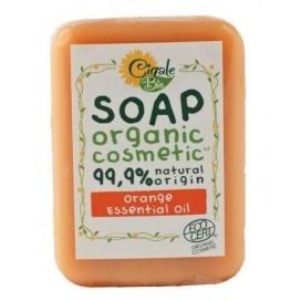 Mýdlo CIGALE BIO s pomerančovým esenciálním olejem, 100 g