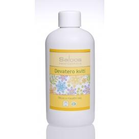 Masážní olej SALOOS devatero kvítí, 250 ml