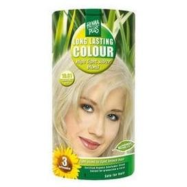 Dlouhotrvající barva HENNAPLUS Extra stříbrná blond 10.01