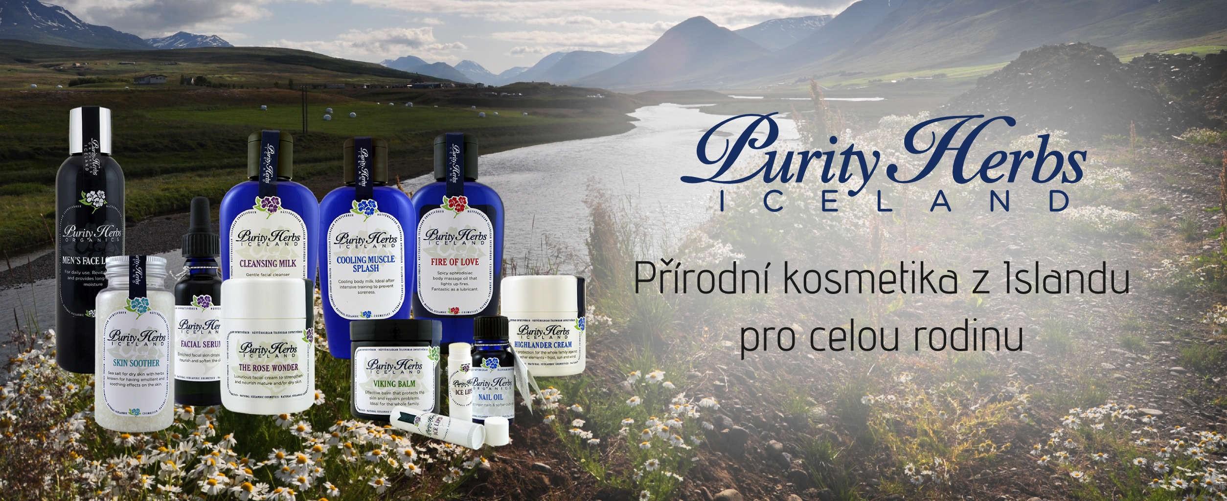 Purity Herbs - přírodní kosmetika z Islandu