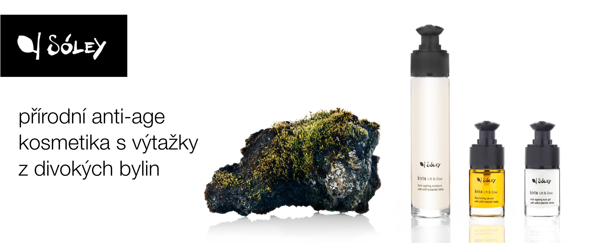 Sóley - přírodní anti-age kosmetika